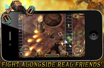 Screenshots of the Men vs Machines game for iPhone, iPad or iPod.