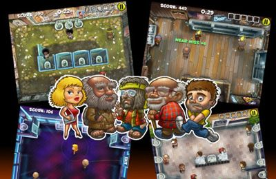 Download Men's Room Mayhem iPhone free game.
