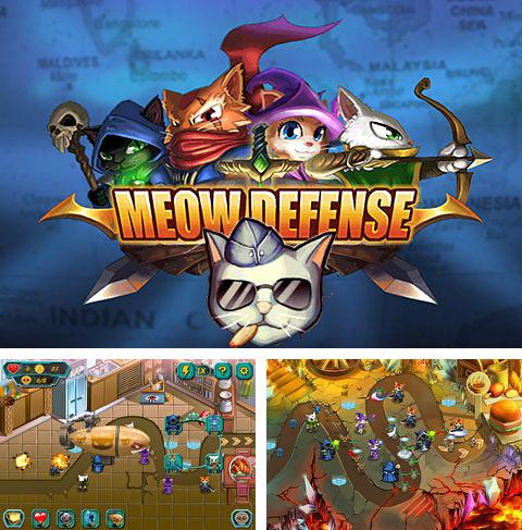In addition to the game Deep Space Race for iPhone, iPad or iPod, you can also download Meow defense for free.