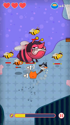 Screenshots of the Meowoof game for iPhone, iPad or iPod.