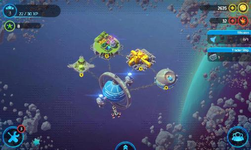 Screenshots of the Merchants of space game for iPhone, iPad or iPod.