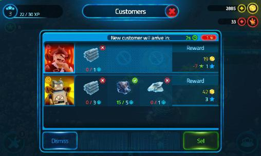 Screenshots vom Spiel Merchants of space für iPhone, iPad oder iPod.