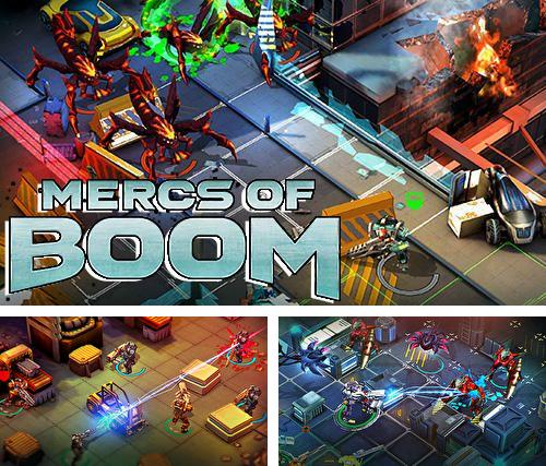 In addition to the game StarBunker:Guardians 2 for iPhone, iPad or iPod, you can also download Mercs of boom for free.