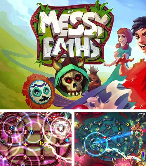 In addition to the game Rop for iPhone, iPad or iPod, you can also download Messy Paths for free.