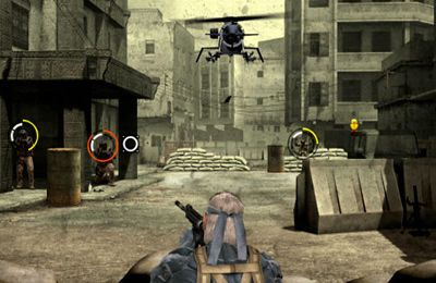 Kostenloses iPhone-Game Metal Gear Solid Touch herunterladen.