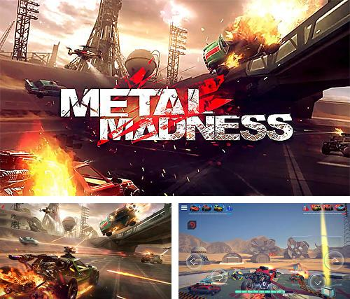 In addition to the game Cartoon Defense 2 for iPhone, iPad or iPod, you can also download Metal madness for free.