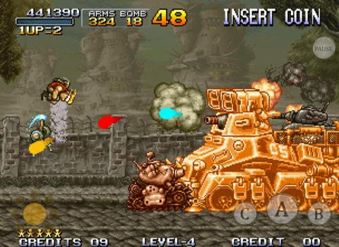 Descarga gratuita de Metal slug para iPhone, iPad y iPod.