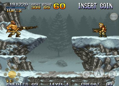 Capturas de pantalla del juego Metal slug para iPhone, iPad o iPod.