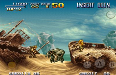 Descarga gratuita de METAL SLUG 3 para iPhone, iPad y iPod.