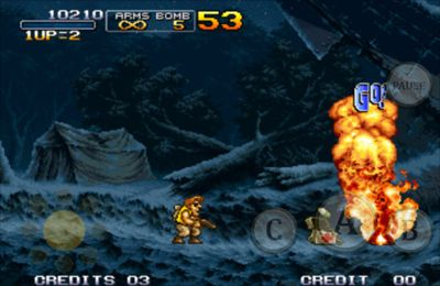 Capturas de pantalla del juego METAL SLUG 3 para iPhone, iPad o iPod.