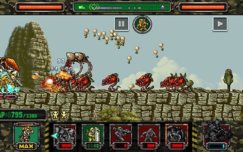 Free Metal slug attack download for iPhone, iPad and iPod.