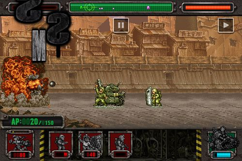 Download Metal slug: Defense iPhone free game.