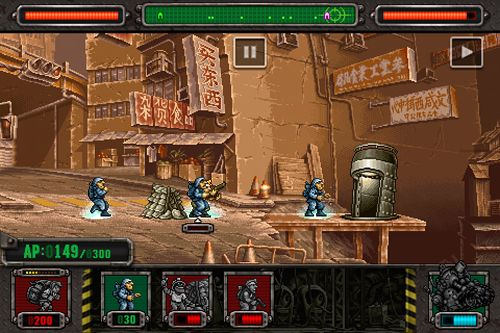Free Metal slug: Defense download for iPhone, iPad and iPod.