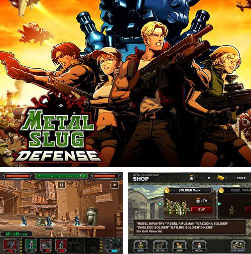 In addition to the game Mystery of the ancients: Mud water creek for iPhone, iPad or iPod, you can also download Metal slug: Defense for free.