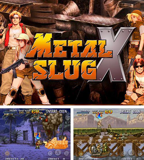In addition to the game Supermarket mania 2 for iPhone, iPad or iPod, you can also download Metal slug X for free.