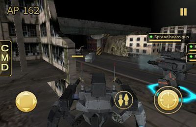 Capturas de pantalla del juego Metal Wars 2 para iPhone, iPad o iPod.