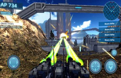 Screenshots of the Metal Wars 3 game for iPhone, iPad or iPod.