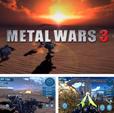 In addition to the game Baseball: Highlights 2045 for iPhone, iPad or iPod, you can also download Metal Wars 3 for free.