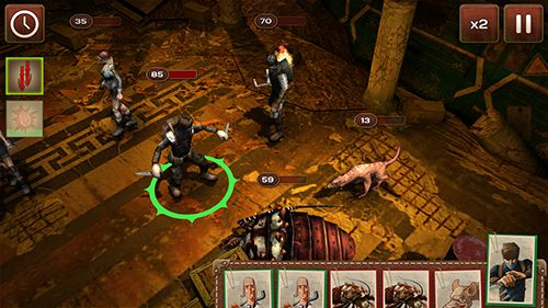 Screenshots of the Metro 2033: Wars game for iPhone, iPad or iPod.