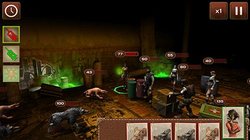 Capturas de pantalla del juego Metro 2033: Wars para iPhone, iPad o iPod.