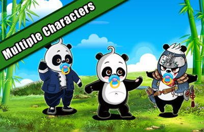 Screenshots of the MeWantBamboo - Become The Master Panda game for iPhone, iPad or iPod.