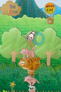 Descarga gratuita de MewMew Tower Toy para iPhone, iPad y iPod.