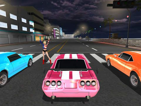 Free Miami racing: Muscle cars download for iPhone, iPad and iPod.