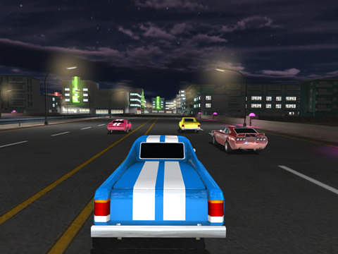 Screenshots of the Miami racing: Muscle cars game for iPhone, iPad or iPod.