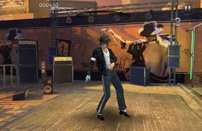 Écrans du jeu Michael Jackson The Experience pour iPhone, iPad ou iPod.
