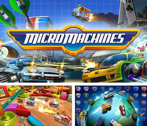 In addition to the game Sam & Max Beyond Time and Space Episode 3.  Night of the Raving Dead for iPhone, iPad or iPod, you can also download Micro machines for free.