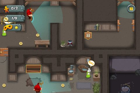 Écrans du jeu Midnight bite pour iPhone, iPad ou iPod.