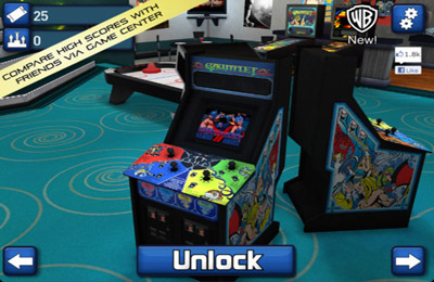Capturas de pantalla del juego Midway Arcade para iPhone, iPad o iPod.