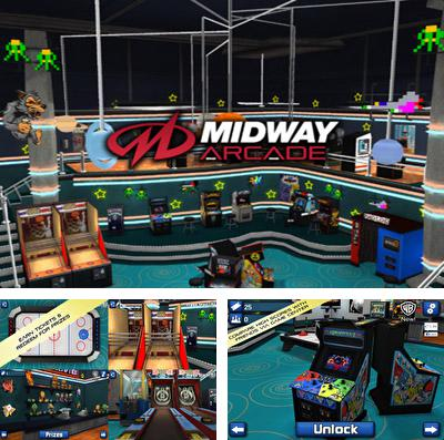 In addition to the game Five nights at Freddy's 4 for iPhone, iPad or iPod, you can also download Midway Arcade for free.
