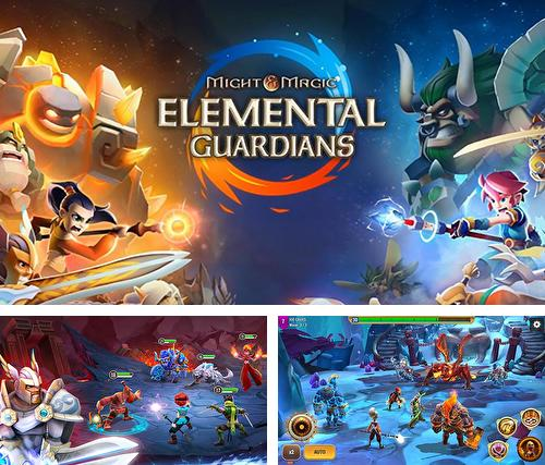 Alem do jogo Grand Theft Auto 3 para iPhone, iPad ou iPod, voce tambem pode baixar Poder e magia: Guardiões de elementos, Might and magic: Elemental guardians gratuitamente.