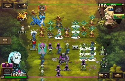 Kostenloser Download von Might & Magic Clash of Heroes für iPhone, iPad und iPod.