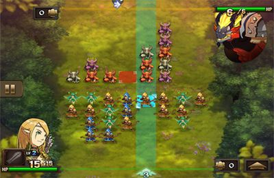 Screenshots vom Spiel Might & Magic Clash of Heroes für iPhone, iPad oder iPod.