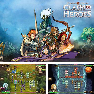 In addition to the game Fusion war for iPhone, iPad or iPod, you can also download Might & Magic Clash of Heroes for free.