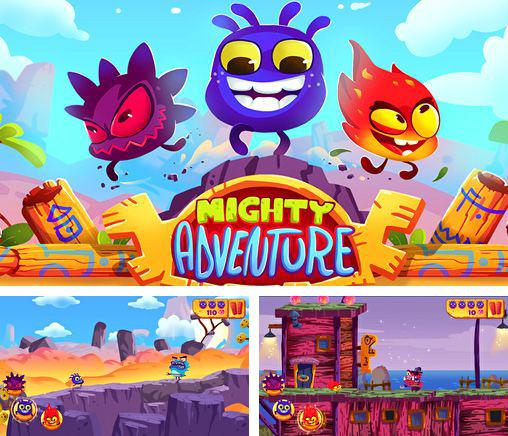 In addition to the game Blockhead Online for iPhone, iPad or iPod, you can also download Mighty adventure for free.