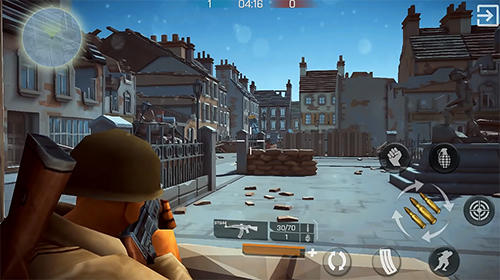 Écrans du jeu Mighty army: World war 2 pour iPhone, iPad ou iPod.