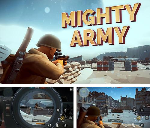En plus du jeu Santa Bourré pour iPhone, iPad ou iPod, vous pouvez aussi télécharger gratuitement Armée puissante: Seconde guerre mondiale, Mighty army: World war 2.