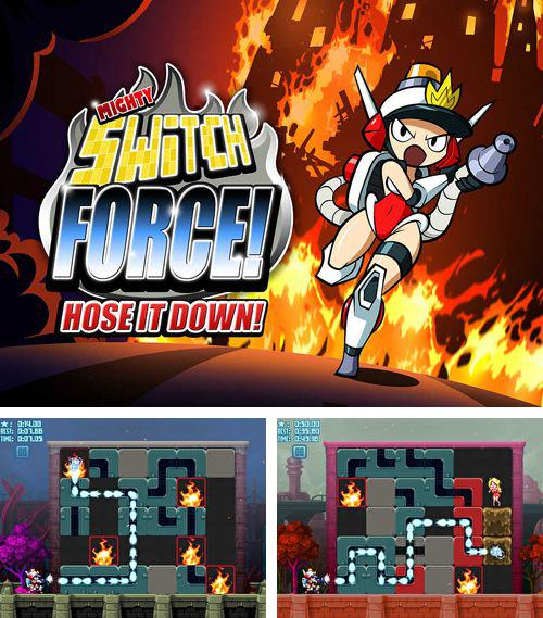 In addition to the game MegaMan X for iPhone, iPad or iPod, you can also download Mighty switch force! Hose it down! for free.
