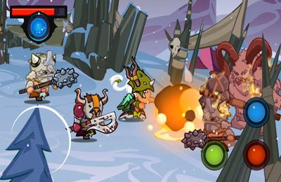 Écrans du jeu Mighty Wardens pour iPhone, iPad ou iPod.