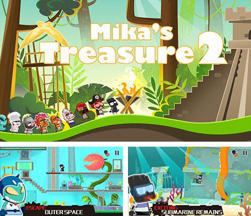 In addition to the game Lego: Jurassic world for iPhone, iPad or iPod, you can also download Mika's treasure 2 for free.