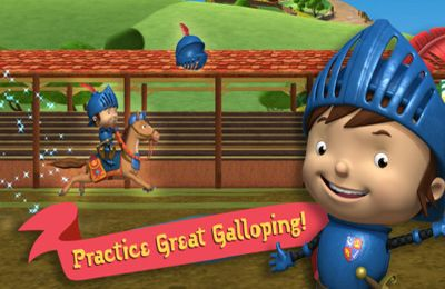 Capturas de pantalla del juego Mike the Knight: The Great Gallop para iPhone, iPad o iPod.