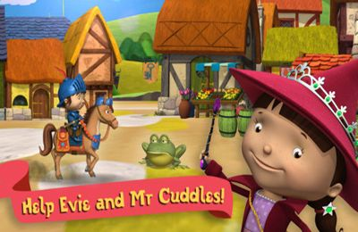 Screenshots of the Mike the Knight: The Great Gallop game for iPhone, iPad or iPod.