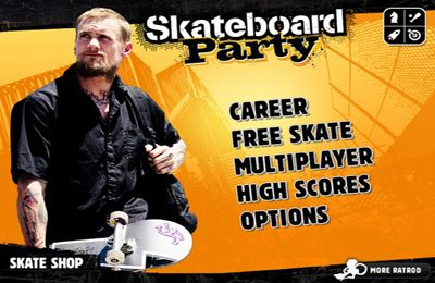 Kostenloses iPhone-Game Mike V: die Skateboard Party herunterladen.