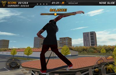 Kostenloser Download von Mike V: Skateboard Party für iPhone, iPad und iPod.
