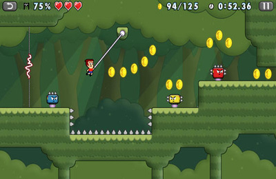 Screenshots of the Mikey Hooks game for iPhone, iPad or iPod.