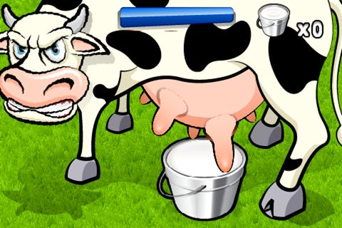 Descarga gratuita de Milk the cow para iPhone, iPad y iPod.