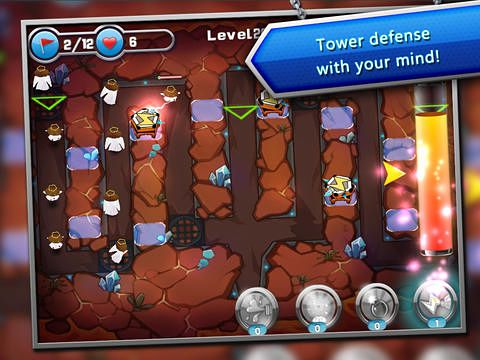 Descarga gratuita del juego Mente: Defensa de la torre para iPhone.